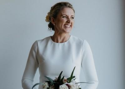 Bride Merinda at Ooralba